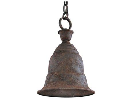 Troy Lighting Liberty Centennial Rust 11'' Wide Outdoor Hanging Light TLF2367CR