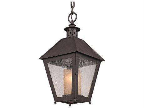 Troy Lighting Sagamore Centennial Rust 10'' Wide Outdoor Hanging Light TLF3297