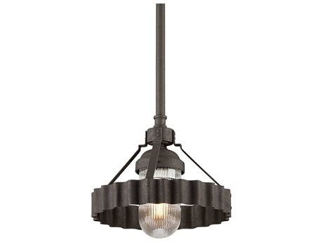 Troy Lighting Canary Wharf Burnt Sienna 14'' Wide Outdoor Hanging Light TLF4244