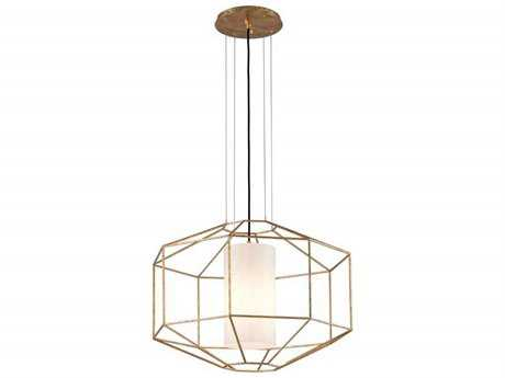 Troy Lighting Silhouette Gold Leaf Pendant Light