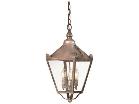 Troy Lighting Preston Three-Light 9'' Wide Outdoor Hanging Light
