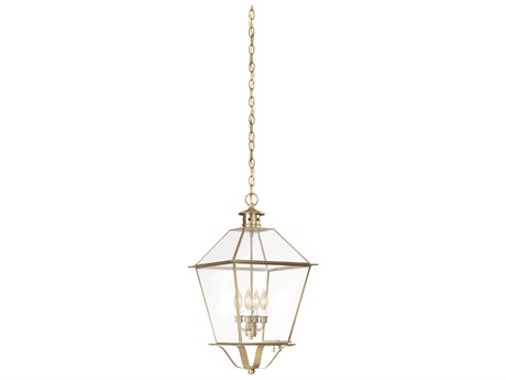 Troy Lighting Montgomery Four-Light 14'' Wide Outdoor Hanging Light
