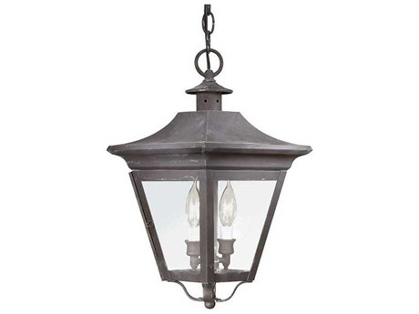 Troy Lighting Oxford Two-Light 10'' Wide Outdoor Hanging Light