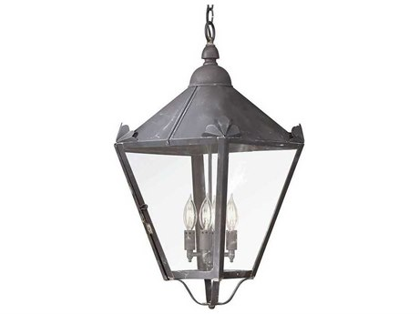 Troy Lighting Preston Four-Light 13'' Wide Outdoor Hanging Light