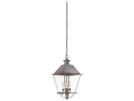 Troy Lighting Montgomery Four-Light 12'' Wide Outdoor Hanging Light