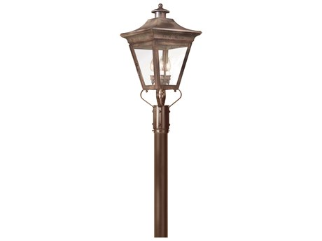 Troy Lighting Oxford Three-Light 13'' Wide Outdoor Post Light