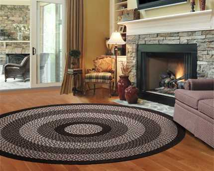 Thorndike Mills Green Mountain Fudge Brown Area Rug