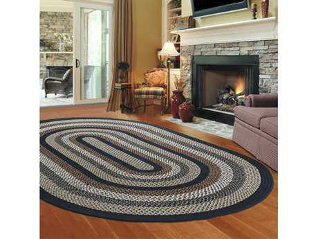 Thorndike Mills Green Mountain Lake Champlain Blue Area Rug