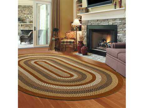 Thorndike Mills Green Mountain Maple Syrup Area Rug