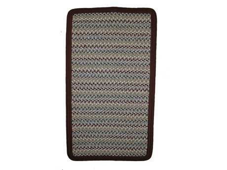 Thorndike Mills Green Mountain Farmer's Market Maroon Area Rug