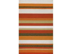 Trans Ocean Rugs Ravella Rectangular Orange Area Rug