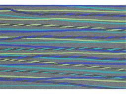 Trans Ocean Rugs Visions II 1'6'' x 2'5.5'' Rectangular Gray Area Rug