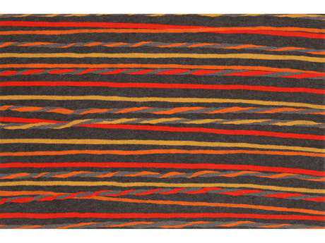 Trans Ocean Rugs Visions II 1'6'' x 2'5.5'' Rectangular Red Area Rug
