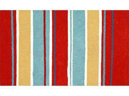 Trans Ocean Rugs Visions III 1'6'' x 2'5.5'' Rectangular Red Area Rug