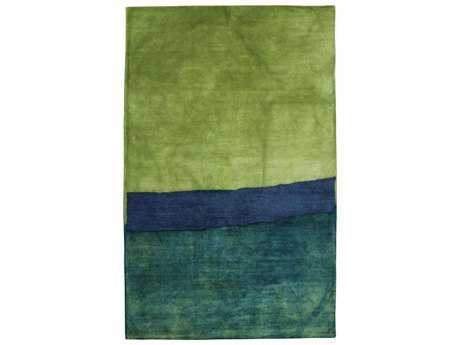 Trans Ocean Rugs Piazza Zen Rectangular Blue Area Rug