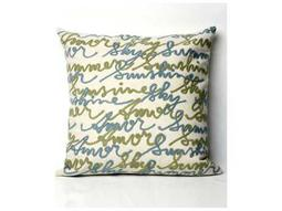 Trans Ocean Rugs Visions II Amour Ivory Indoor / Outdoor Pillow