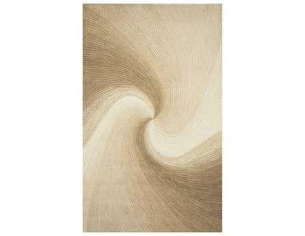 Trans Ocean Rugs Dunes Rectangular Sand Area Rug
