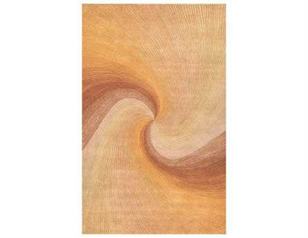 Trans Ocean Rugs Dunes Rectangular Sunset Area Rug