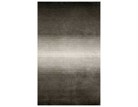 Trans Ocean Rugs Ombre Rectangular Gray Area Rug