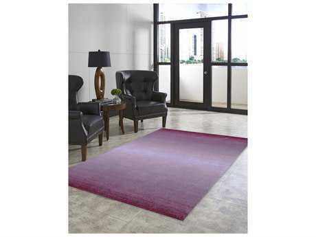 Trans Ocean Rugs Ombre Rectangular Purple Area Rug
