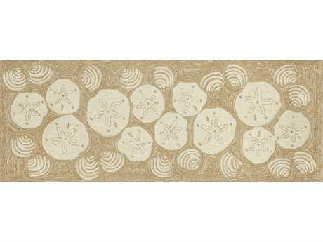 Trans Ocean Rugs Frontporch 2'3'' x 6' Rectanglular Natural Runner Rug