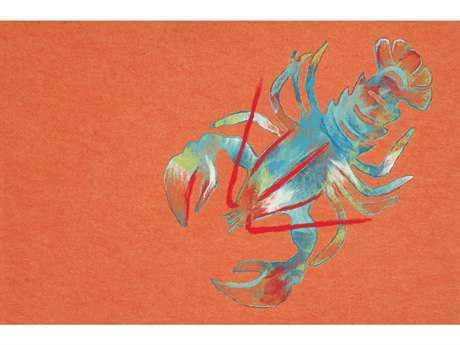 Trans Ocean Rugs Visions III 1'6'' x 2'5.5'' Rectangular Orange Area Rug