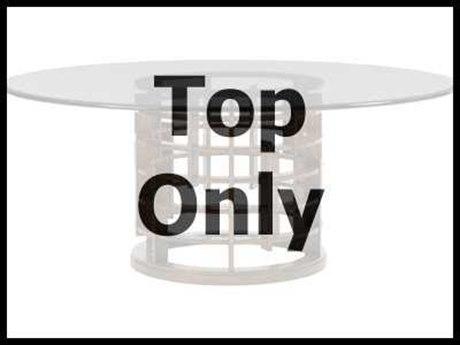 Tommy Bahama Landara 72 Inch Glass Table Top