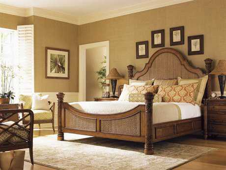 Tommy Bahama Island Estate Round Hill Bedroom Set