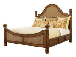 Tommy Bahama Island Estate Round Hill California King Panel Bed