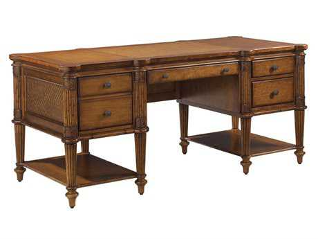 Tommy Bahama Island Estate Fraser Island 70 x 32 Rectangular Executive Desk