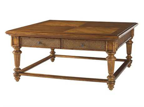 Tommy Bahama Island Estate 48 Square Boca Cocktail Table