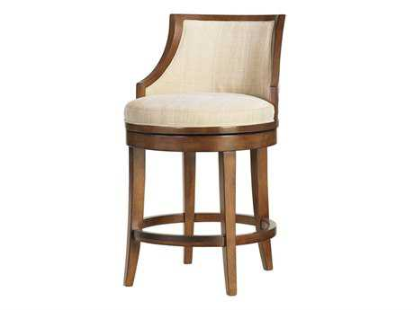 Tommy Bahama Ocean Club Quick Ship Cabana Swivel Counter Stool