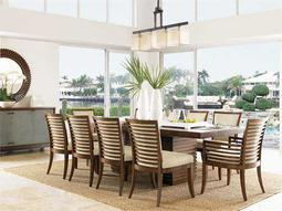 Tommy Bahama Ocean Club Peninsula Dining Set