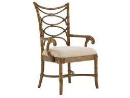Tommy Bahama Beach House Quick Ship Sanibel Arm Dining Chair