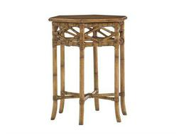Tommy Bahama Beach House 23 x 20 Hexagon Coral Springs Accent Table