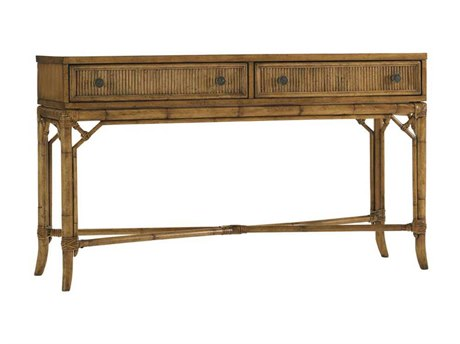 Tommy Bahama Beach House 54 x 17.5 Rectangular Palm Coast Sofa Table