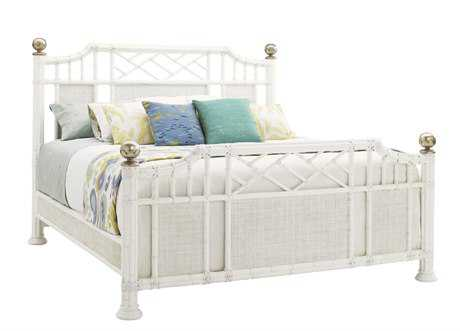 Tommy Bahama Ivory Key Pritchards Bay King Panel Bed