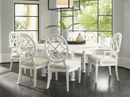 Tommy Bahama Ivory Key Knapton Hill Dining Table Set