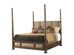 Tommy Bahama Landara Monarch Bay Queen Poster Bed