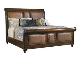 Tommy Bahama Landara Palmera Queen Sleigh Bed