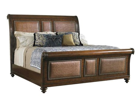 Tommy Bahama Landara Palmera King Sleigh Bed