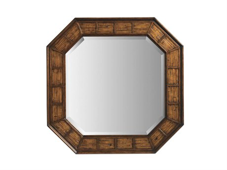 Tommy Bahama Landara 44 x 44 Round Cape Coral Wall Mirror