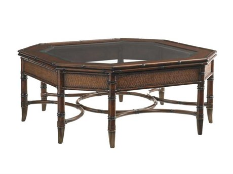 Tommy Bahama Landara 46 Octagonal Marianas Cocktail Table