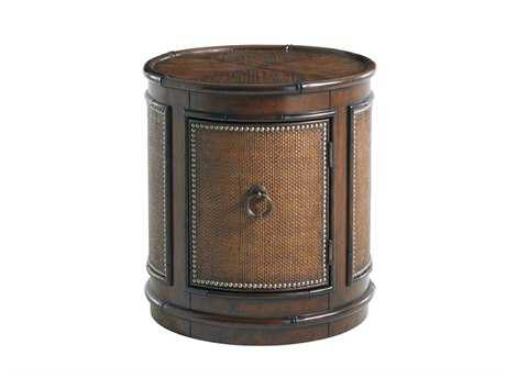 Tommy Bahama Landara 22 Round Sandpiper Lamp Table