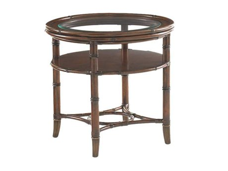 Tommy Bahama Landara 26 Round Maricopa Lamp Table