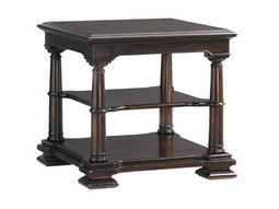 Tommy Bahama Island Traditions  27 Square Devonshire Open Book Table