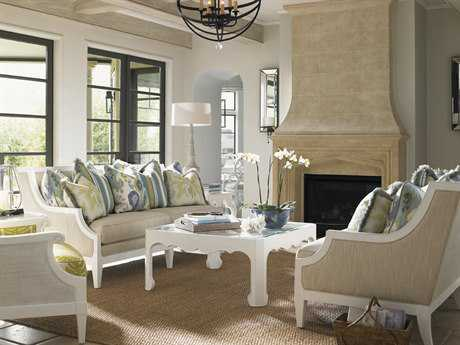 Tommy Bahama Ivory Key Coco Reef Sofa Set