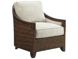 Tommy Bahama Island Fusion Loose Back Woven Kiawah Arm Chair