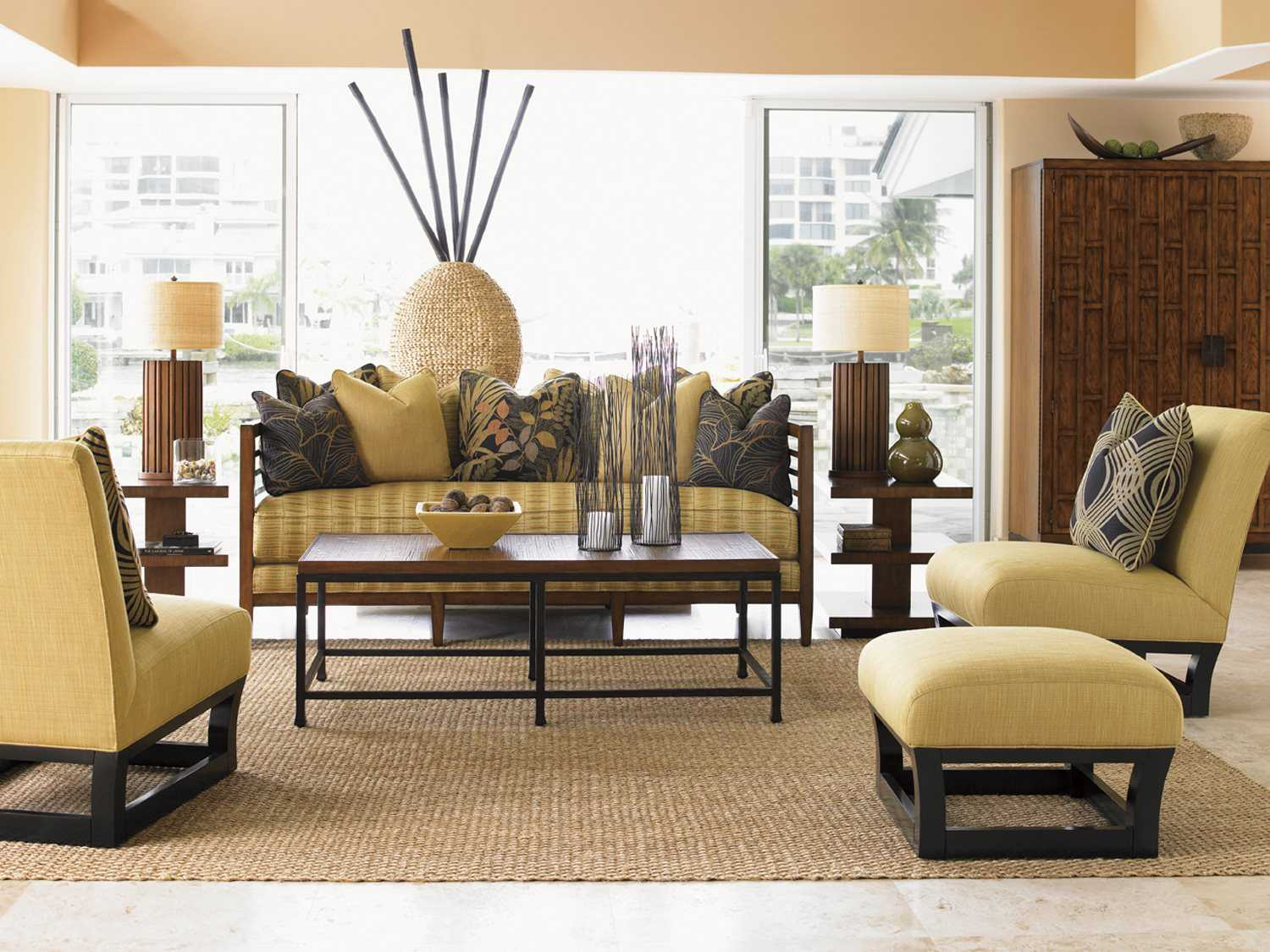 Tommy Bahama Living Room Furniture Tommy Bahama Ocean Club St Lucia Sofa To161533