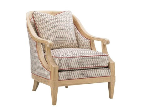 Tommy Bahama Ivory Key Shoal Bay Accent Chair